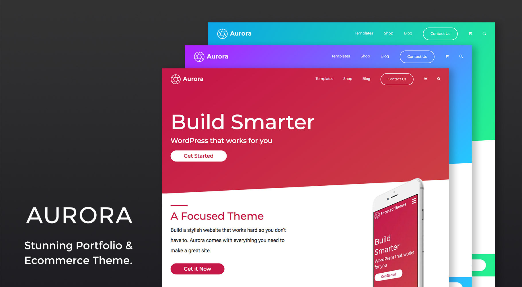 Aurora WordPress Theme